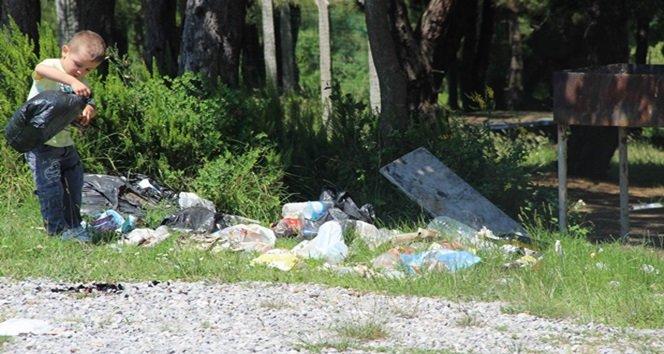 Piknik Alanları Çöplük İçinde