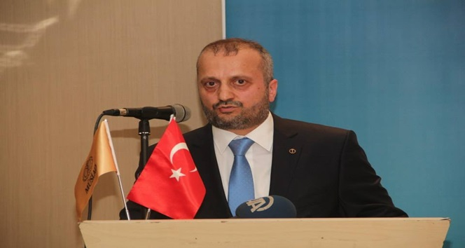 MÜSİAD Zonguldak Şube Başkanı Salih Yılmaz, Barış ve Huzur Diledi