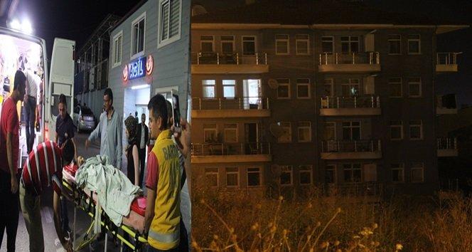 3.Kattan Beton Zemine Düşen 19 Aylık Çocuk yaralandı