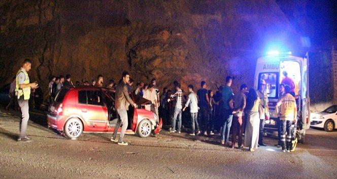 Zonguldak'ta Trafik Kazası : 7 Yaralı