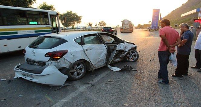 Kaza Yapan Gençler Mahallelinin Tepkisi Üzerine Kaçtı
