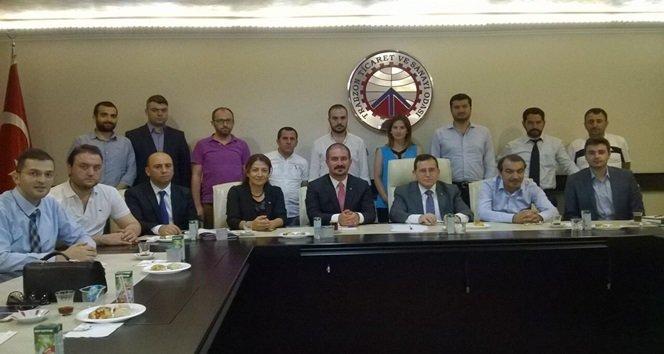 Genç Girişimciler Karadeniz İl Başkanları Toplantısı Trabzon'da Yapıldı