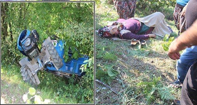 Tarım Aracı Tarlaya Uçtu:7 Yaralı