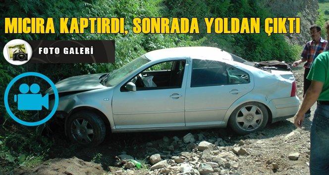 Türkali'de Trafik kazası 1 kişi yaralandı (görüntülü)