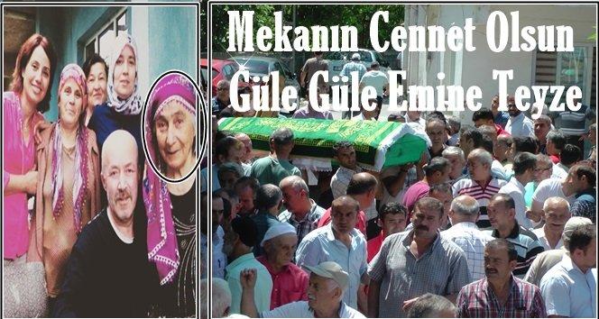 Türkali'de Emine Teyzeyi Son Yolculuğuna Uğurladık (Görüntülü)