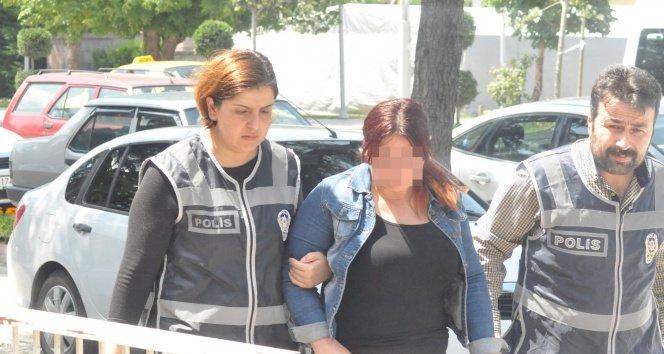 Arkadaşına zorla fuhuş yaptıran kadın gözaltına alındı