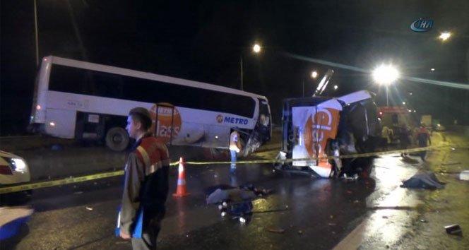 feci kaza: 7 ölü, 34 yaralı