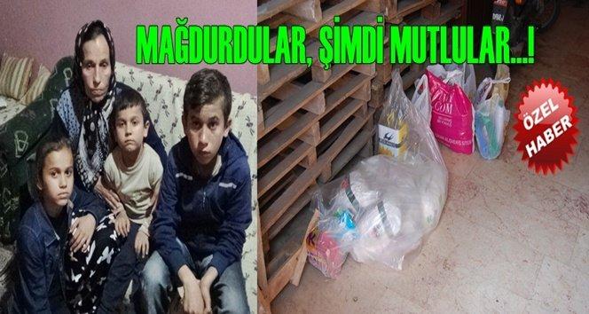 Ramazan Ayında Mağdur Aile Unutulmadı