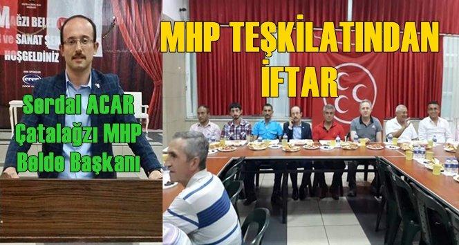 MHP Çatalağzı Belde Teşkilatından İftar
