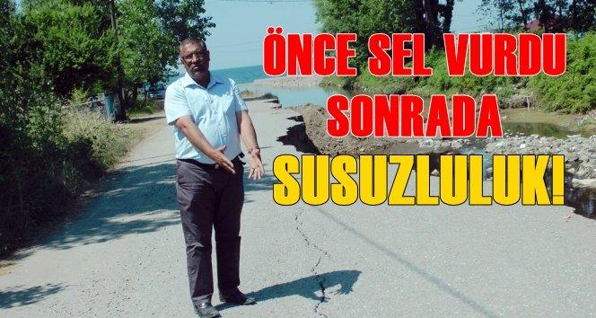 Göbü Köyü'nde Yaz Sıcağında SUSUZLULUK.!(Görüntülü)