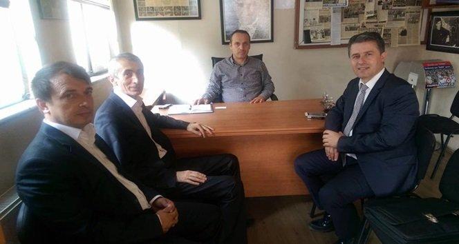 ZONDEF BAŞKANI GURBET ALTAY, KGD'Yİ ZİYARET ETTİ