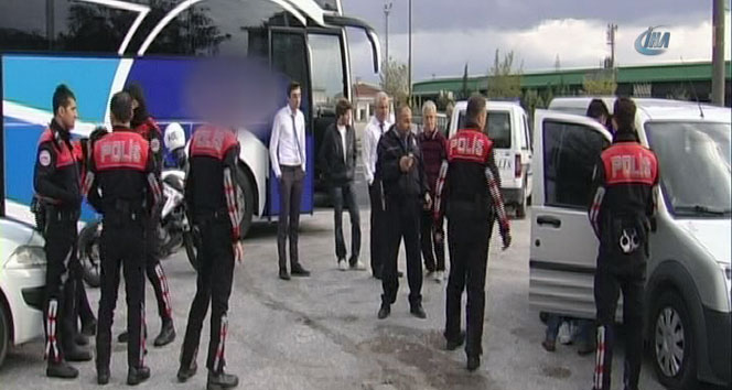 Otobüste canlı bomba paniği