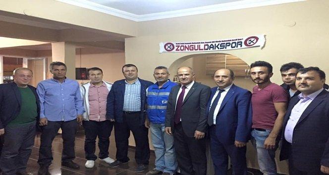 KAZANCI, KOZLU'DA DESTEK İSTEDİ