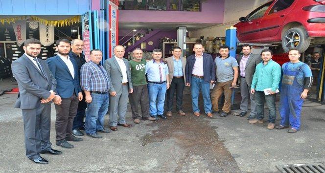 KAZANCI; SANAYİ ESNAFINDAN DESTEK İSTEDİ