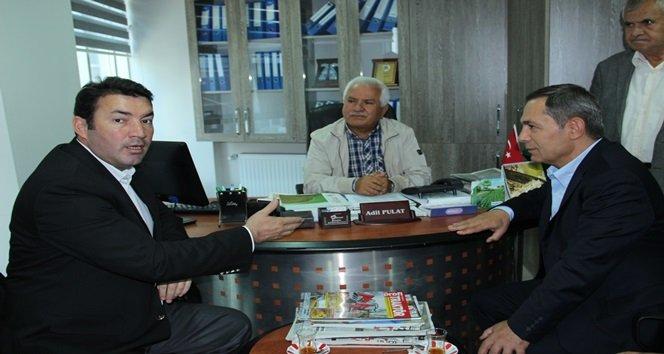 ZİRAAT ODASI BAŞKANI, ULUPINAR'DAN MAZOTA DESTEK İSTEDİ