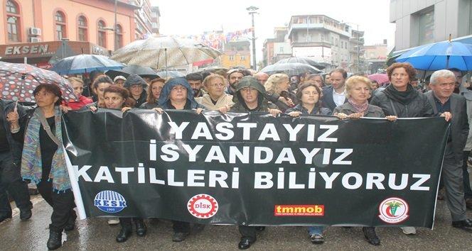 ANKARA'DAKİ PATLAMA PROTESTO EDİLDİ