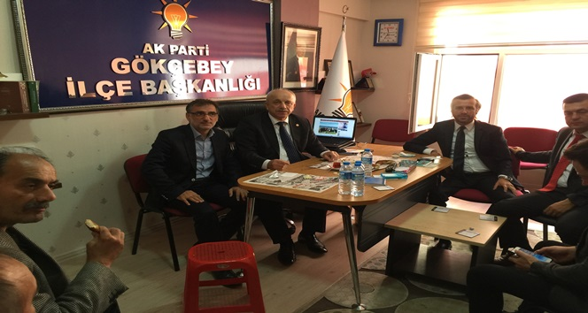 ÖZBAKIR'A GÖKÇEBEY'DE COŞKULU KARŞILAMA