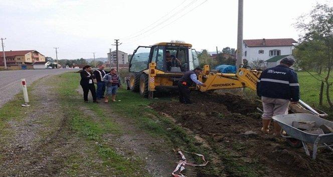 SALTUKOVA'DA ALT YAPI ÇALIŞMALARINA BAŞLANDI