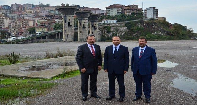 VALİ KABAN'DAN KÖMÜRSPOR'A OTOPARK MÜJDESİ