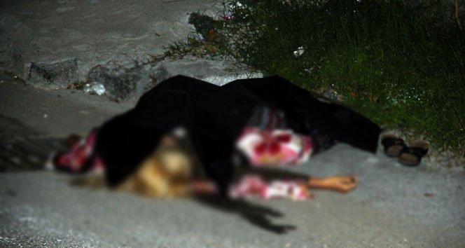 Genç kadının sokak ortasında sır ölümü
