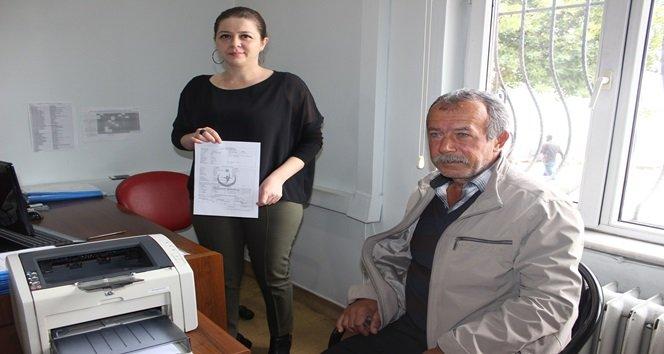 KIBRIS GAZİSİ ASLANTÜRK ORGANLARINI BAĞIŞLADI (ONUR ALTINDAĞ/ZONGULDAK-İHA)