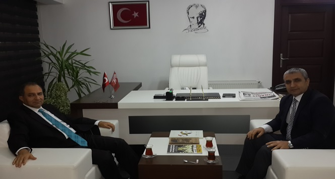 VALİ KABAN'DAN BİK'E ZİYARET