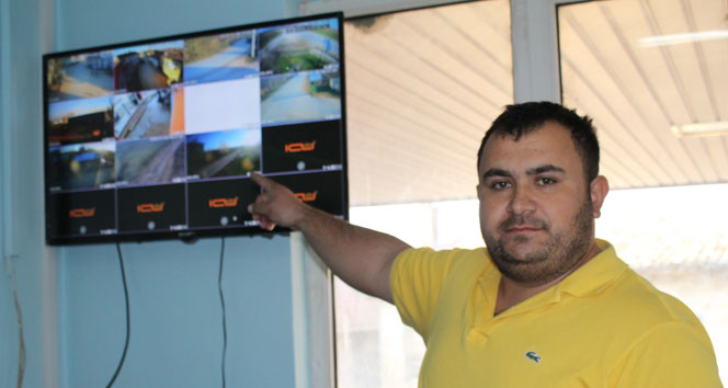 Hırsızlardan bıkan köylüler güvenlik kamerası kurdu