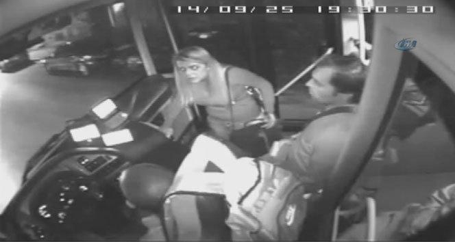 Kardeşinin kartıyla otobüse bindi, ortalığı birbirine kattı