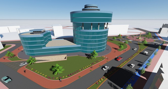 Yeni hizmet binası için dev adım