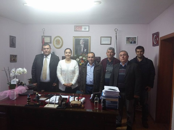 Çaycuma CHP'den Başkan Güneş'e Ziyaret