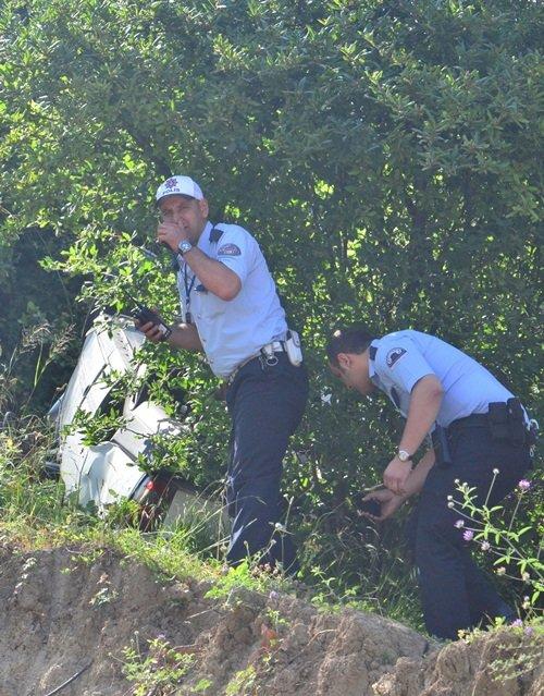 POLİS EKİPLERİ KAZAYA İLİŞKİN SORUŞTURMA BAŞLATTI. (ONUR ALTINDAĞ - SERTAÇ ÖZDEMİR/ZONGULDAK-İHA)