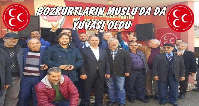 MHP Muslu Belde Teşkilatı Açıldı