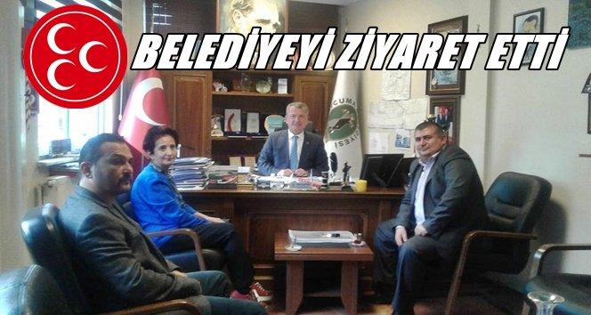 MHP Çaycuma Teşkilatı Kantarcı'yı Ziyaret Etti