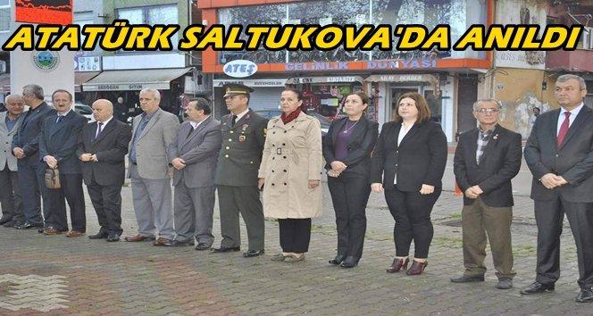 Saltukova Mustafa Kemal Atatürk'ü Andı