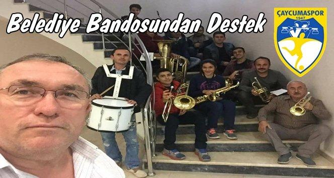 Çaycumaspor Takımına Bandolu Destek.!