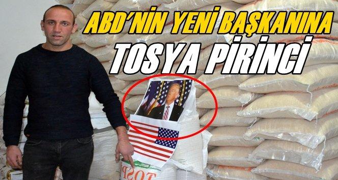 Türkiye'den ABD'ye Hediyelik Pirinç