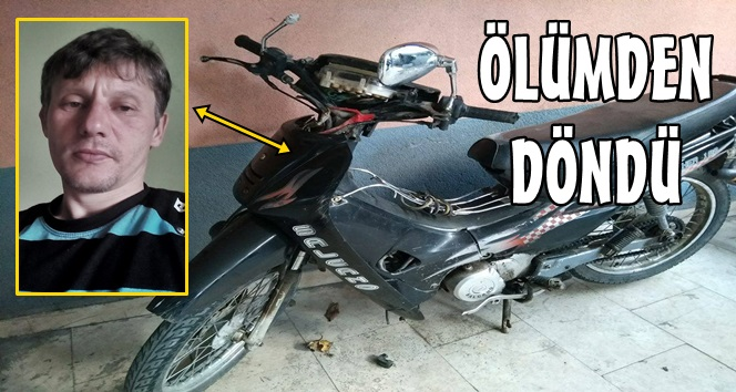 Motosiklet Sürücüsü O Anları Anlattı; Haber Türkali'den…