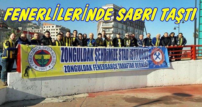 Zonguldak'lı Fenerlilerden Stad İsteği