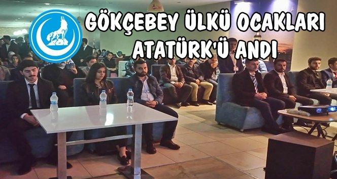 Ülkücüler Atatürk'ü Gökçebey'de Andı