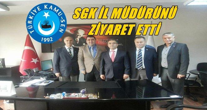 Bacıoğlu İl Müdürünü Ziyaret Etti