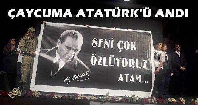 Atatürk 78. Yılında Çaycuma'da Özlemle Anıldı