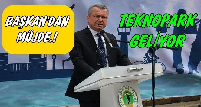 Başkan Kantarcı Çaycuma'ya teknopark kurulacağını söyledi