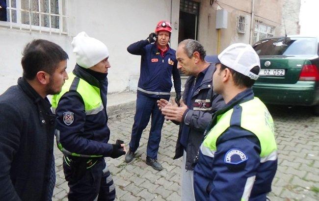 POLİS KAZA İLE İLGİLİ OLARAK SORUŞTURMA BAŞLATTI. (VEDAT KILIÇ/ZONGULDAK-İHA)
