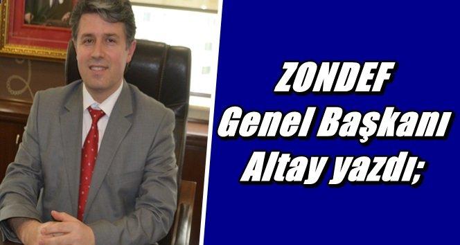 """ZONDEF'ten Zonguldak'a tam destek"""