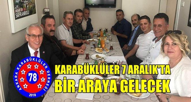 Ankara'daki Karabüklüler 7 Aralık'ta gece düzenliyor