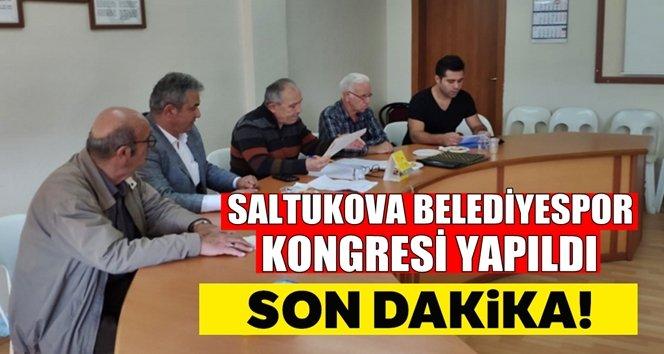 Saltukova Belediyespor kongresini yaptı
