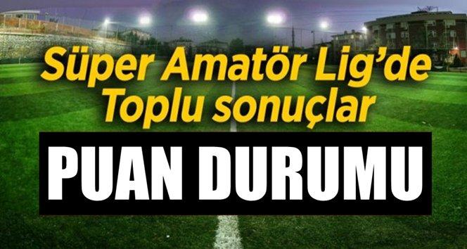 Zonguldak Süper Amatör ligde toplu sonuçlar