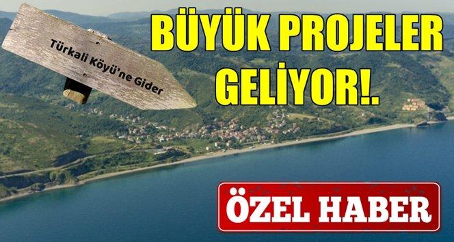 2020 yılında Türkali köyü şantiyeye dönüşüyor!.