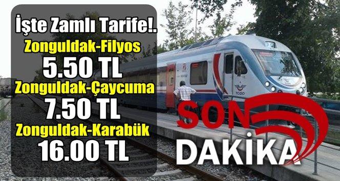 Zonguldak-Çaycuma-Gökçebey-Karabük zamlandı!.