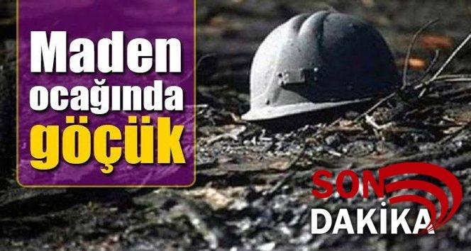 Maden ocağında göçük!.